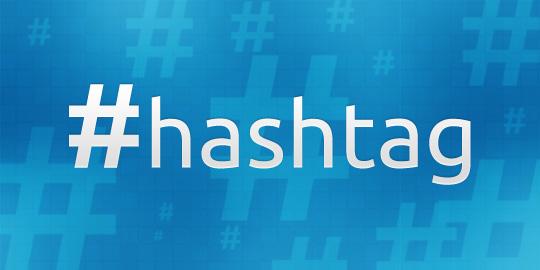 Vemos hashtags sempre nos Trending Topics